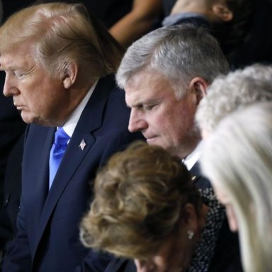 The Revoltingly Fake Christianity Of Franklin Graham