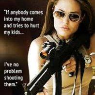 Guns, a controversial subject...