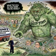 """Think you know who's concerned about the """"deep state""""? Think again"""