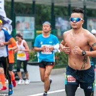 On your marks, get set, cheat: Marathon race ends in chaos after dozens of runners were caught taking shortcuts