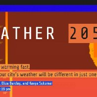 WEATHER 2050 -- America is warming fast. See how your city's weather will be different in just one generation.
