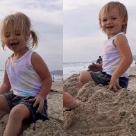 California cop rescues twin girls, 2, after dad drives off cliff, police say