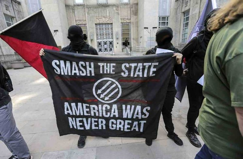 """Is this the Middle East? No, It's the Radical Left Chanting """"Death To America"""" in Oakland!"""