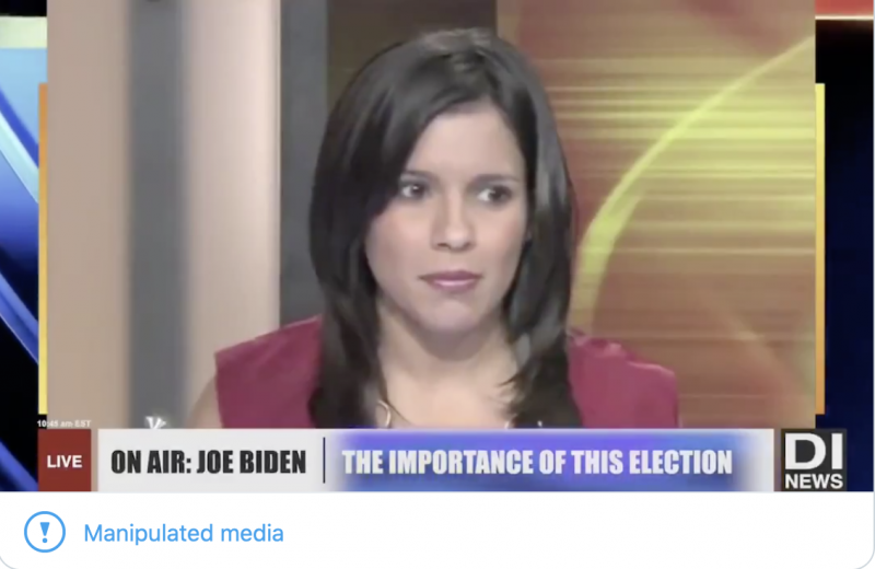 Another Day, Another Doctored Biden Video Tweeted By Team Trump