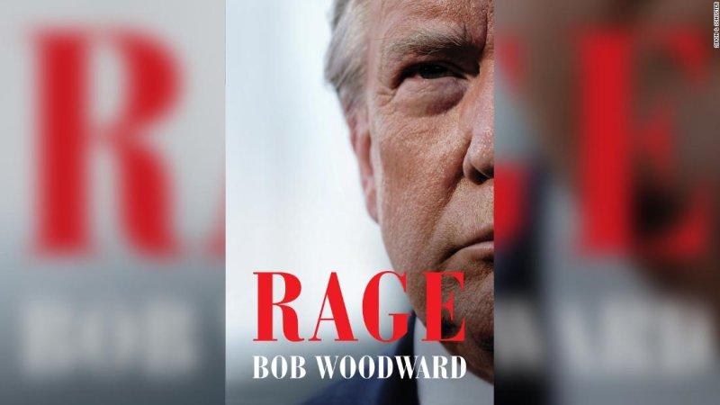 Bob Woodward book 'Rage:' Trump admits to concealing true threat of coronavirus - CNNPolitics