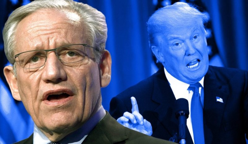 Trump Claims Woodward Impersonated His Voice - The Lint Screen