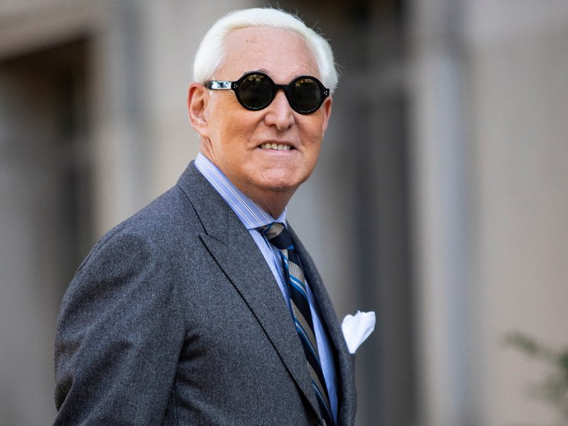 Roger Stone tells Trump to bring in martial law if he loses election | The Independent