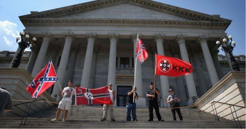 Donald Trump's favorite catchphrase 'America First' has dark ties to the Klu Klux Klan