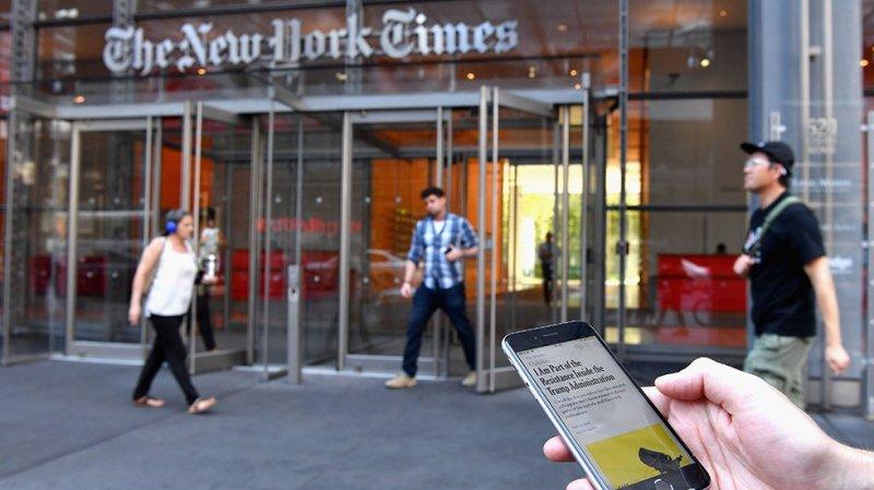 NYT editorial calls Trump the 'greatest threat to American democracy since World War II'