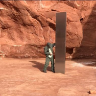 Artist or aliens? Mystery surrounds Utah monolith's appearance and disappearance