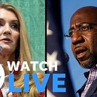 Georgia U.S. Senate runoff: Kelly Loeffler and Raphael Warnock debate in Atlanta (LIVE)   USA TODAY - YouTube