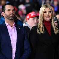 Members of the Trump family signed off after four tumultuous years in the White House