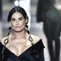Demi Moore Makes Surprise Runway Appearance in Fendi Couture Show