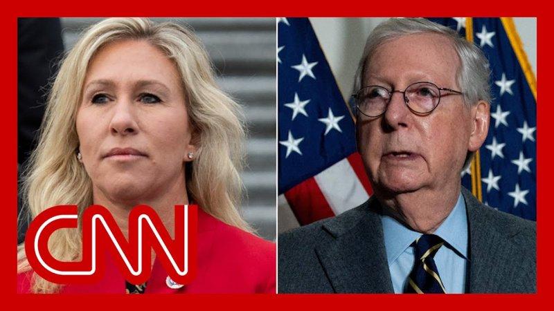 McConnell denounces Marjorie Taylor Greene, defends Liz Cheney