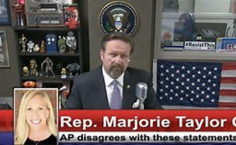 Q Anon Congresswoman Marjorie Taylor-Greene , On Radio Show, Addresses Criticism Of Her