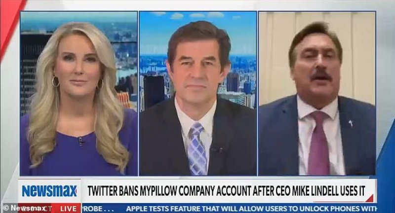 MyPillow Fight: Lindell Clashes With Newsmax Over Trump's 2020 Loss