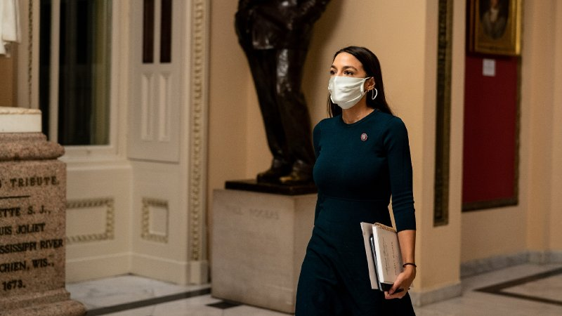 No, AOC Didn't Make Up Her Capitol Riots Experience - The New York Times