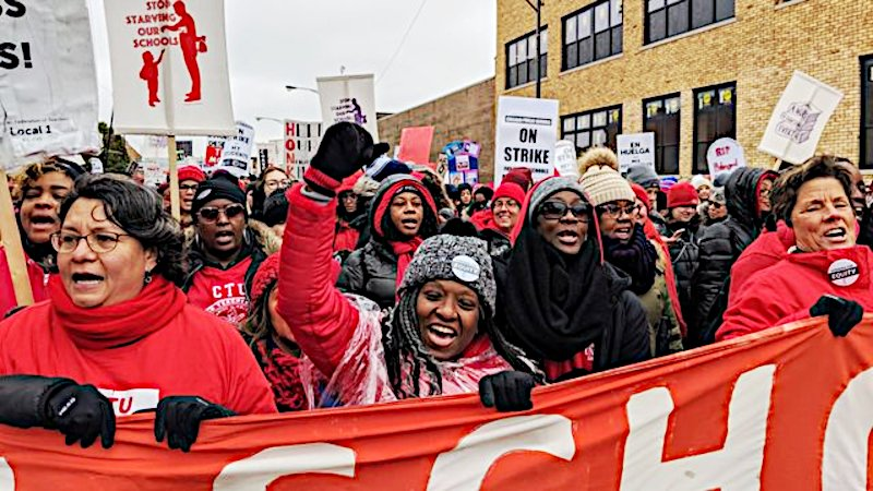 Chicago Teachers Union endorses a bargain with death, agrees to in-person classes