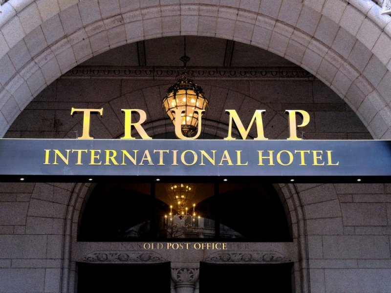 Trump's DC hotel hiking prices on day QAnon thinks he'll be sworn in