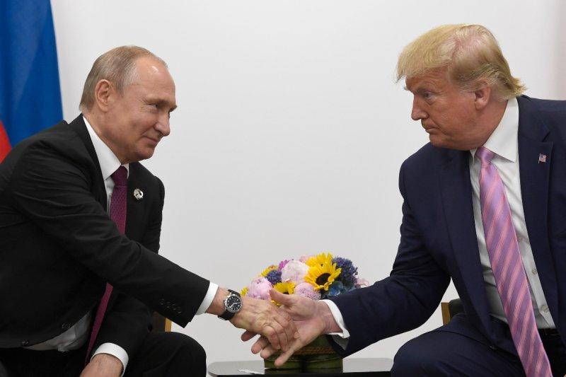 Trump hid his calls with Putin. Now, Biden has access to them. - POLITICO