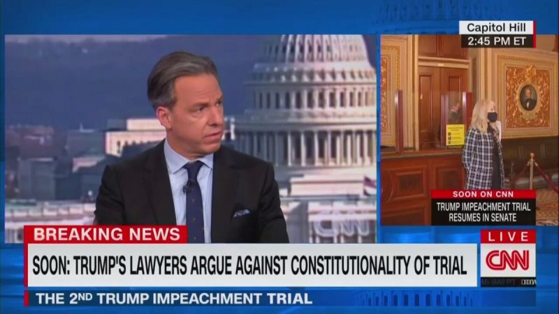 Jake Tapper: Trial Would Be the Same if Mike Pence Was Killed