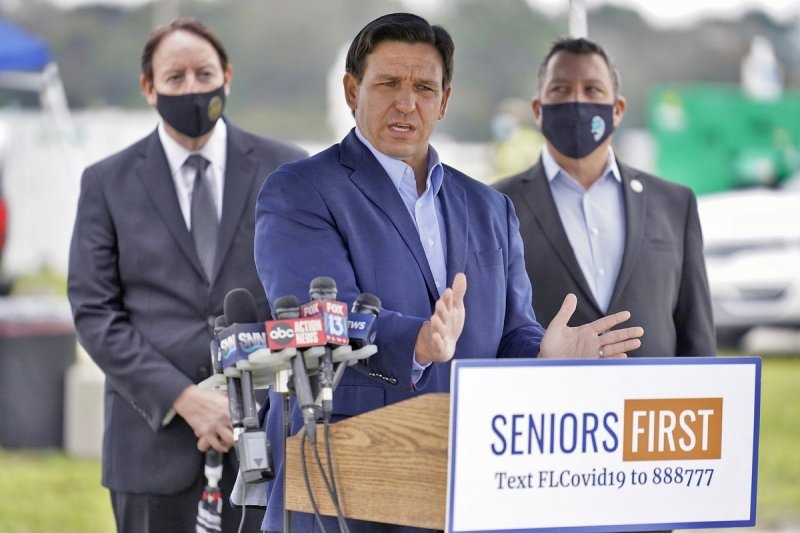DeSantis threatens to withhold COVID vaccine over complaints - South Florida Sun-Sentinel