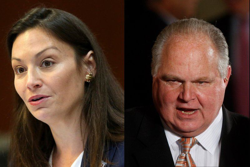 Nikki Fried says she won't lower flags to honor Rush Limbaugh despite DeSantis' order | WFLA