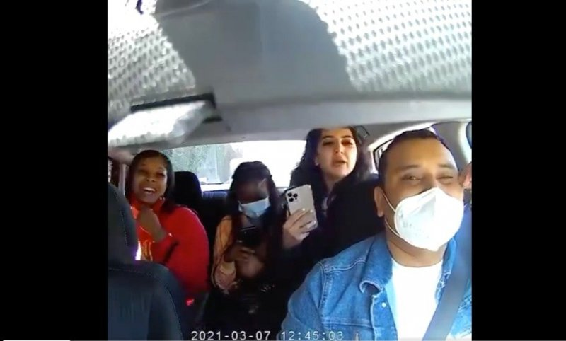 Maskless passengers assault Uber driver who refused them a ride