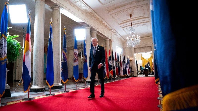 We Fact-Checked Biden's Prime-Time White House Address - The New York Times