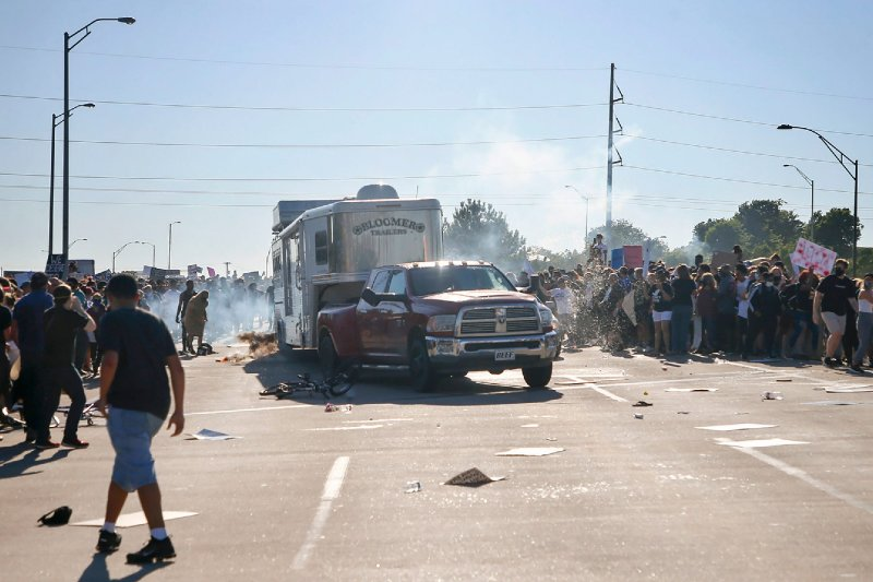 Oklahoma Republicans pass bill to protect drivers who hit protesters