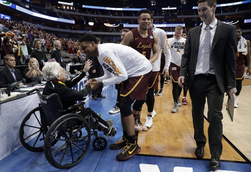 Sister Jean , Vaccinated And Cleared To Attend The NCAA Tournament. And, oh, She's 101 Years Old