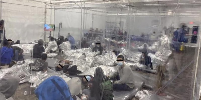 Photos of crowded migrant holding center in Texas released by Democratic congressman | Fox News
