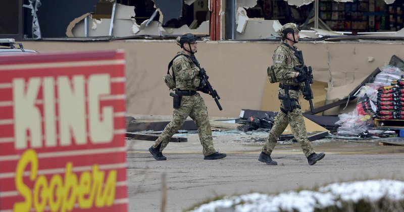 Live Updates: 10 killed in mass shooting at Boulder, Colorado, supermarket