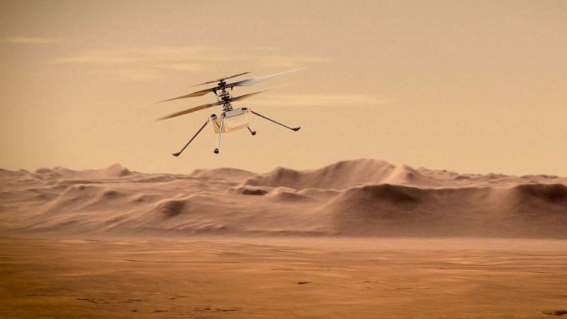 NASA to attempt history-making helicopter flight on Mars - ABC News