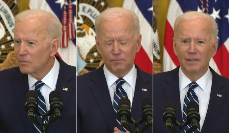 Grading the first Biden Press Conference