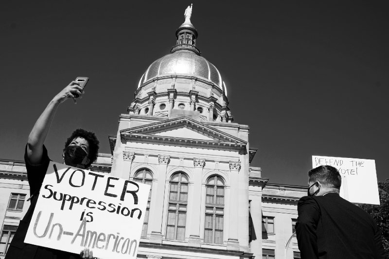 'An inflection point': Congress prepares for battle over massive voting rights bill