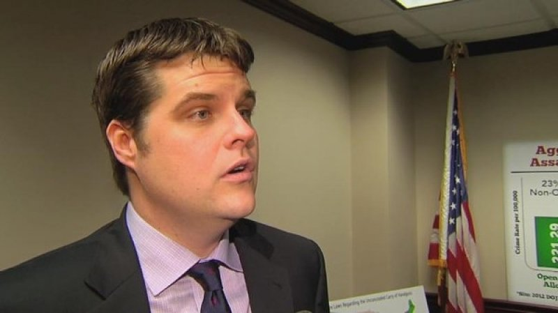 Florida Rep. Matt Gaetz was literally the only person to vote against an anti-human trafficking bill | Blogs