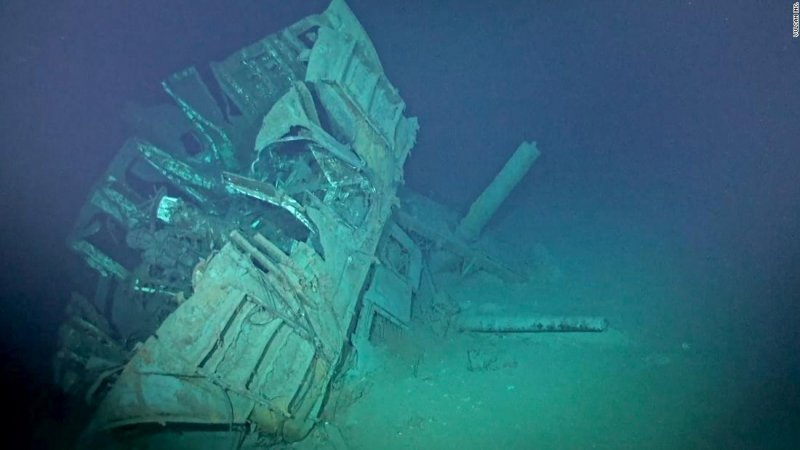 USS Johnston: World's deepest known shipwreck from World War II discovered - Part of the US Navy Finest Hour.
