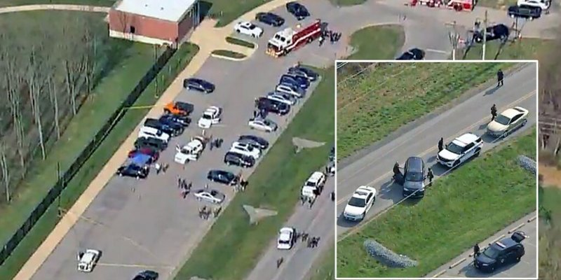 Maryland shooting: Suspect was US Navy corpsman and is dead, 2 others critically injured, officials say
