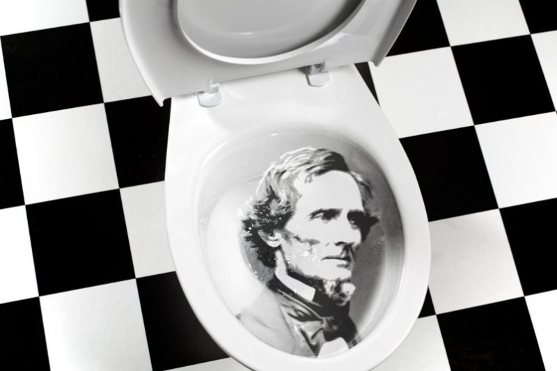 Stolen Jefferson Davis Monument Is Apparently In Danger Of Being Turned Into A Toilet