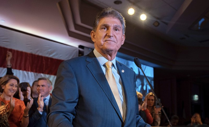 Manchin gives warning on Schumer's go-it-alone strategy