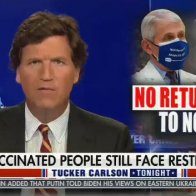 "Tucker Carlson speculates the COVID vaccine ""doesn't work and they're simply not telling you that"""
