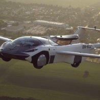 Watch: Flying car nails landmark test flight in Slovakia
