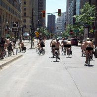 You Might See A Bunch Of People Biking Naked Through Montreal Today.