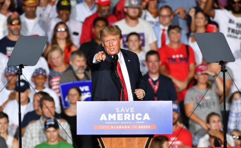 Trump Booed At Rally After Quipping That COVID-19 Vaccinations Are 'Good'