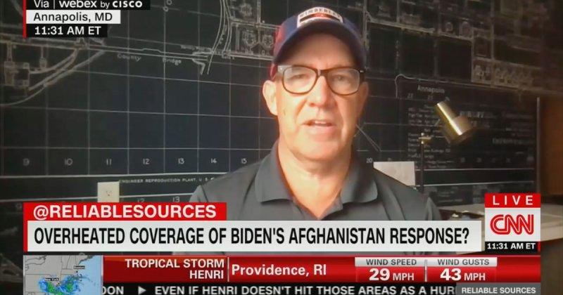 Matthew Dowd: Biden Afghanistan Coverage 'Way Over the Top'