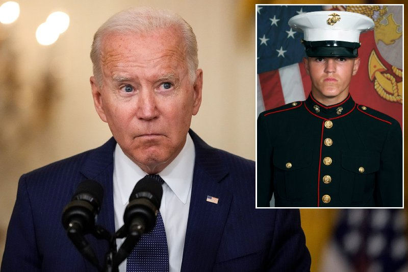 Mom of Marine who died in Kabul attack: Biden voters 'killed my son'