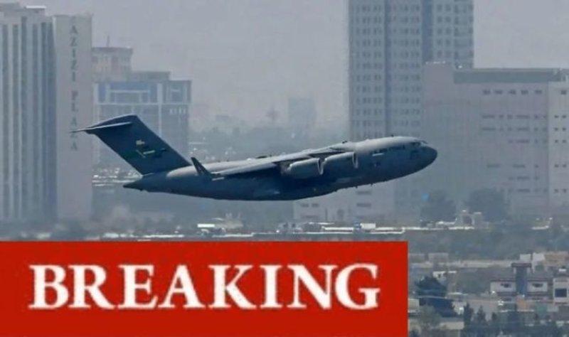 BREAKING: Taliban fighters celebrate 'defeating' Joe Biden as final US troops leave Afghanistan