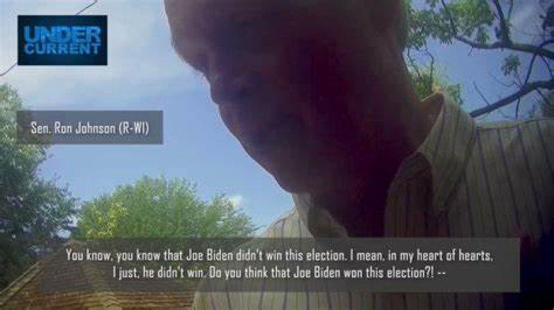 Trump Bootlicker Ron Johnson Finally Admits Biden Won His State