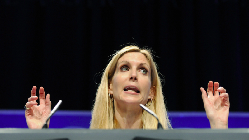 The  Sierra Madre Tattler!: Ann Coulter Praises Biden For Having The 'Balls' To Get Out Of Afghanistan - Calls Trump 'A Wuss'